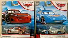 PIXAR CARS 2020 SILVER COLLECTION #28 TIM TREADLESS & #43 STRIP WEATHERS NEW!