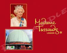 England - London - MADAME TUSSAUDS - Flexible Fridge Magnet