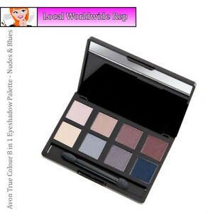 Avon True Colour 8 in 1 Eyeshadow Palette //  Nudes & Blues (RRP £12)