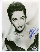 Yvonne Decarlo Psa Dna Coa Autograph 8x10 Photo Hand Signed
