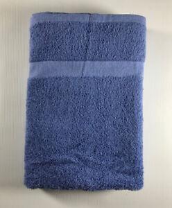 """Dependability By 1888 Mills 24"""" x 50"""" Porcelain Blue Bath Towel"""