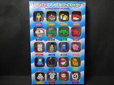 Japanese Eraser Collection Sushi Fujisan Ninja 20 pieces Free Shipping