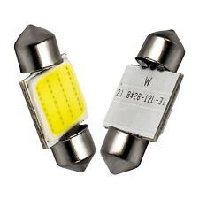 10X Truck COB C5W 10W LED 24V Auto 31MM Dome light Festoon Licence Plate Bulb