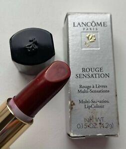 LANCOME lipstick ROUGE SENSATION RED DESIRE BNIB VINTAGE