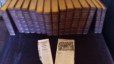 LMS12)Complete set Historians History of the World (inc Churchill clipping) 1926