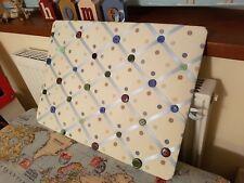 💚 spotty -  Fabric Notice Board/Memo Board/photo board bedroom, kitchen 💚
