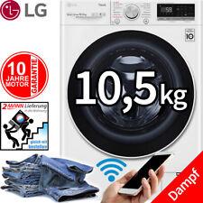 LG 10,5 kg Direktantrieb Waschmaschine 1400 UpM Frontlader WiFi Dampf Funktion