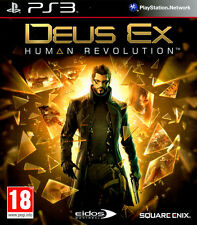 DEUS EX HUMAN REVOLUTION Playstation PS3! Perfetto, pal ITA!