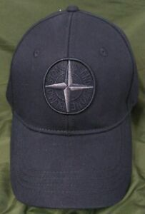 Stone Island Baseball Hat Outdoor Sport Cap Black