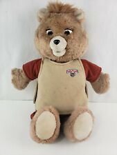 TEDDY RUXPIN -Vintage 1985 w/ Cassette and Outer Shirt Tested No sound Original