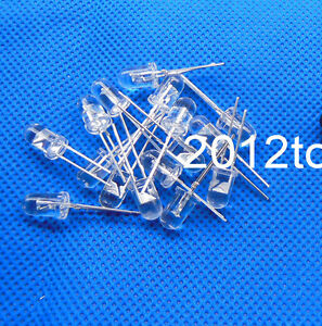 25 50 100 1000pcs New 5mm IR infrared Diode LED 850nm Lamp High Power