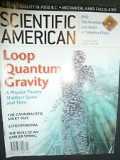 Scientific American magazine January 2004