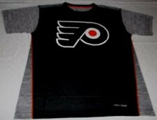 Philadelphia Flyers Crew Neck Cool Base Replica Jersey Shirt 2XL Black NHL