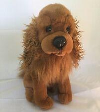 Ganz Auburn Brown Faithful Friends Heritage Collection Plush Lifelike Puppy Dog