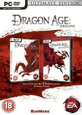 Dragon Age Origins: Ultimate Edition [PC-DVD Computer, Region Free, RPG] NEW