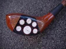 ANTIQUE VINTAGE FANCY FACE VERY UNUSUAL STEWART MCEWAN 1916 WOOD SHAFT DRIVER