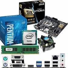 INTEL Pentium G4400 3.3Ghz & ASUS H110M-A & 4GB DDR4 2133 CRUCIAL Bundle