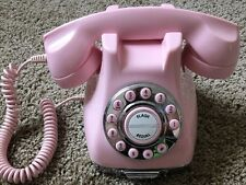 Vintage Pink Phone Note Tray Works Retro 1950s 1960s Style Mary Kay Color