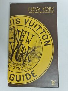 Louis Vuitton New York - City Guide 2011 in slip case excellent condition