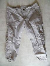 Ann Taylor LOFT Cotton Capri Cropped  Pants Clothing Sz 6