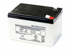 REPLACEMENT BATTERY FOR PRIDE LX WITH CTS SUSPENSION WHEELCHAIR 12V