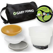 Gary Fong Lightsphere Collapsible Wedding & Event Lighting Modifying Kit - NEW