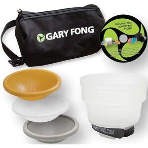 Gary Fong Lightsphere Collapsible Wedding & Event Lighting Modifying Kit - NEW