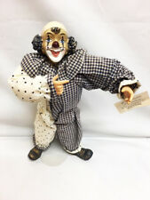 New Show-Stoppers FLIP FLOPS Hobo CLOWN Poseable DOLL Figurine Huey