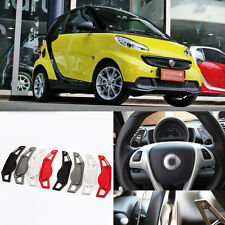 2pcs New Alloy Steering Wheel Shift Paddle Shifter Extension For SMART Fortwo