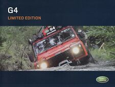 Land Rover challange g4 discovery Limited colección folleto brochure/33