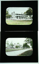 LANTERN SLIDE, GLASS. ARCHITECTURAL VIEW, THE PYTHIAN HOME, OGDENSBURG, N.Y.