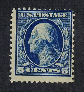 CKStamps:US Stamps Collection Scott#335 5c Washington Mint NH OG Fingerprint Gum
