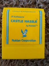 Castle Hassle Commodore 64 JV Software's Castle Hassle Rare Yellow Cart
