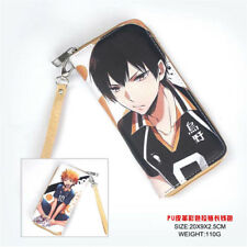 Hot Anime Haikyuu!! haikyuu Cosplay PU Leather long Purse Wallet