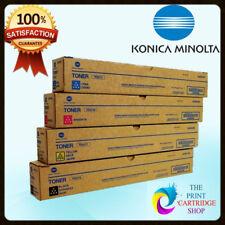 Genuine Konica Minolta Tn321 Full Toner Set CMYK Bizhub C224 C284 C364