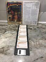 "1992 Indiana Jones & the Fate of Atlantis 3.5"" Disk Computer Game MAC Macintosh"
