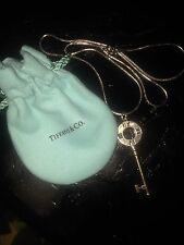 Tiffany And Co. Key Pendant Necklace
