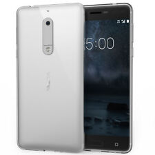 New Rubber Slim Soft TPU Silicone Phone Case Clear Cover For Nokia 5