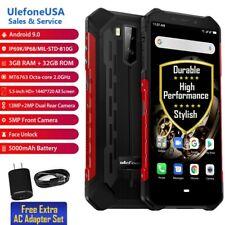 "UlefoneUSA 5.5""Rugged 3GB +32GB Armor X5 Unlock 4G DualSIM NFC Android 9.0(RED)"