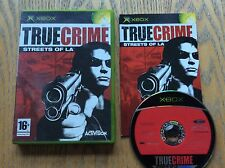 True Crime Streets Of La Xbox Game! Complete! Look In The Shop!