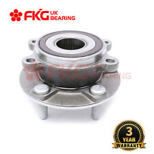 One Front Wheel Bearing Hub Assembly for Mazda 3 BM 2014 2015 2016 FWD 2.0L 2.5L