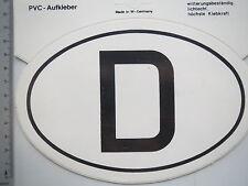 Adesivo Sticker AUTO ADESIVI SIGLE Germania (m1559)