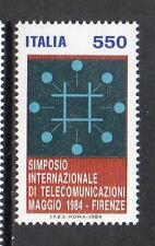 ITALIA 1984 MNH sg1842 INT SIMPOSIO TELECOMUNICAZIONI-FIRENZE
