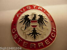 Austria Osterreich new shield mount stocknagel hiking medallion G2424