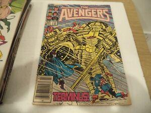 The Advengers Marvel #257 1985 COMIC BOOK    B9