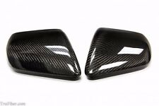 2015-2017 Mustang Carbon Fiber Mirror Covers WITHOUT Turn Signals