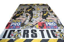 Afl Richmond Tigers Pro Squad Single Bed Quilt Cover Vintage