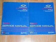 94 1994 Chevrolet Chevy Lumina the car shop service repair manual book 2 volumes