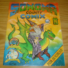 Sonoma County Comix #1 FN/VF underground comix from 1982 - wizard