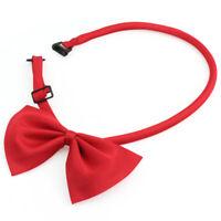 Pet Dog Cat bow tie Necktie clothes BOWTIE Red new Hot 1 piece